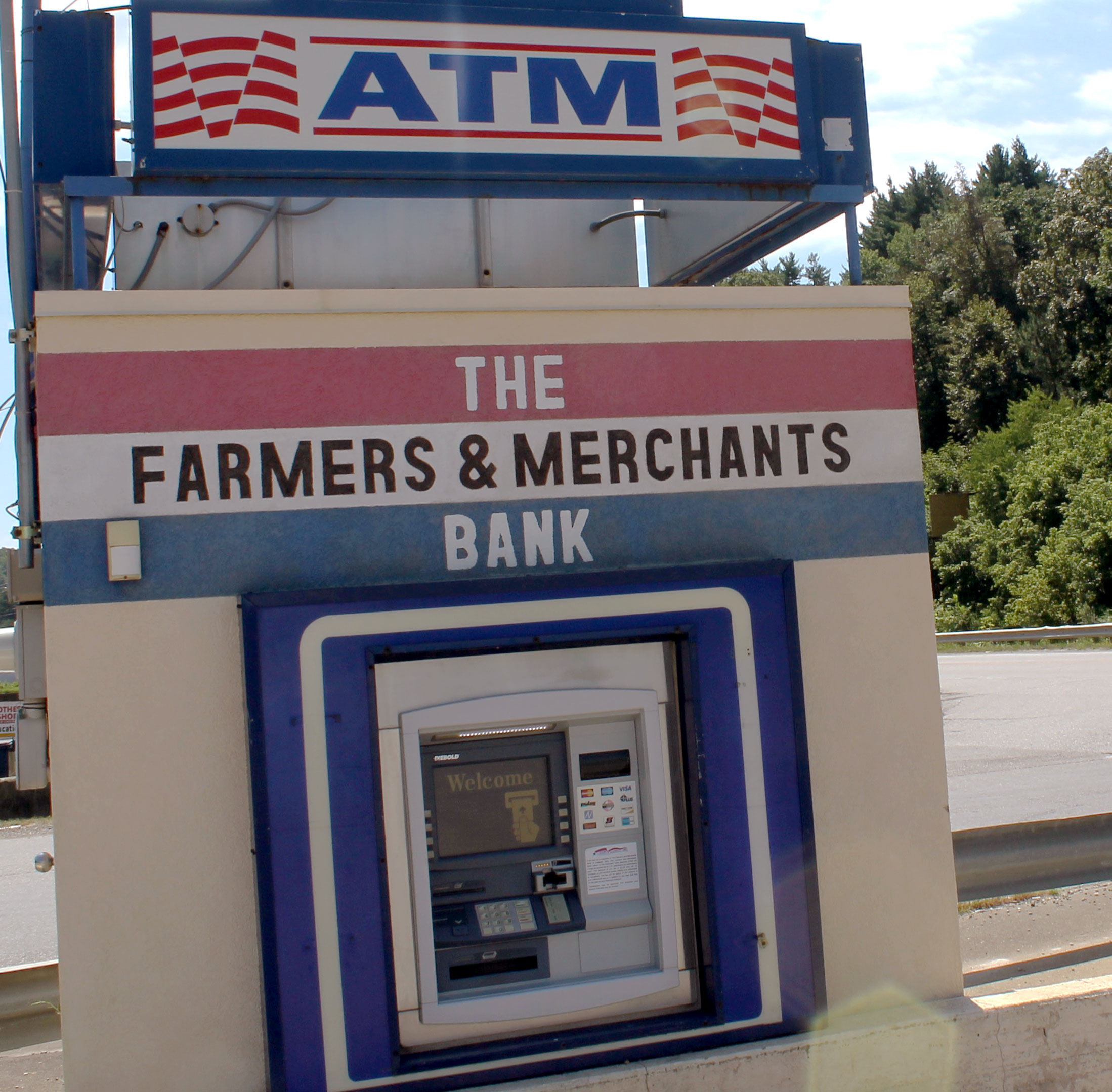 The Farmers and Merchants Bank ATM